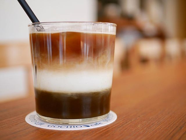【ほうじ茶カフェラテ】